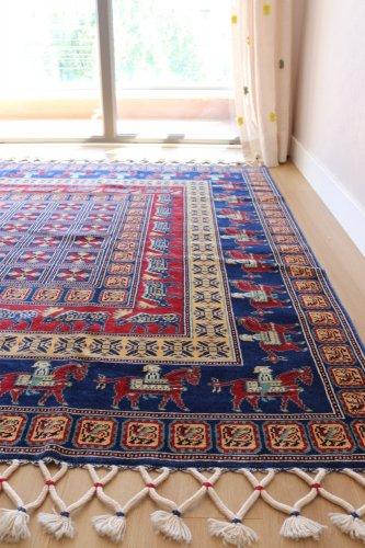 コレクション <br>トルコ絨毯 草木染のPazyryk絨毯 182x177cm