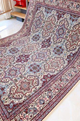 (ご検討中)最高級ヘレケ絨毯  シュメル製 AltiSicil 約252x184cm