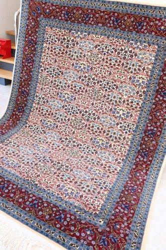 (割引対象外)最高級ヘレケ絨毯  シュメル製 Tebriz 約233x181cm