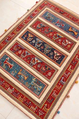 手紡ぎ草木染のスマック ゾランヴァリ 145x105