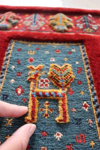 手紡ぎ草木染のスマック ゾランヴァリ 90x62