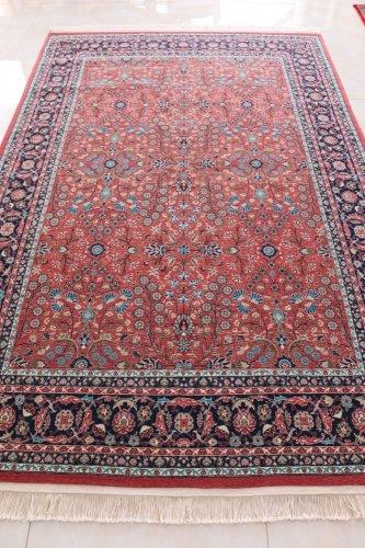 最高級ヘレケ絨毯 シュメル 七つの山の花  256x170cm