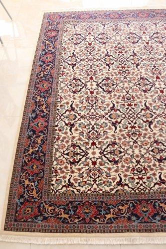 最高級トルコ絨毯 ヘレケ絨毯  シュメル  ドルマバフチェ  約286x205cm