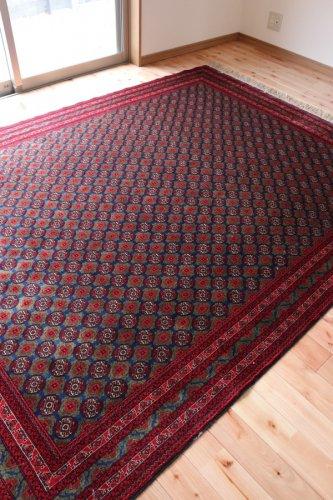 アフガン最高級絨毯ホジャロシュナイ 約238x177cm
