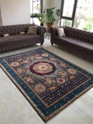 マムルーク絨毯 254x182cm