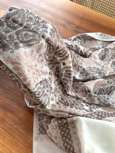 カシミアストール カシミール 美しいシルク刺繍 no.2