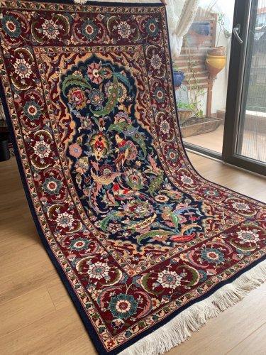 ヘレケ絨毯 特別な一枚 鳳凰