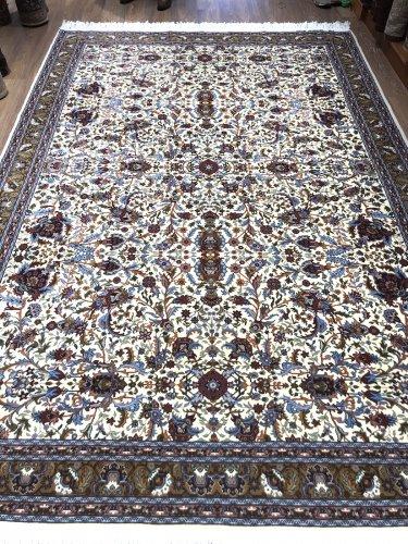 トルコ最高級絨毯 ヘレケ 入手困難なAtaturk大学製 332x221