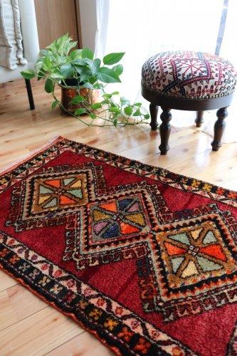 オールド絨毯 シワス ザラのカラフルパレット 2 コレクションピース
