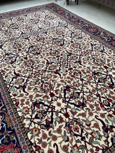 トルコ ヘレケ絨毯 シュメル製 100周年記念 オールド 321x204