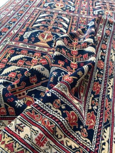 オールド アフガン絨毯 アリホジャ  185x128