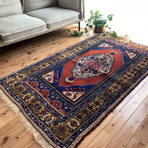 トルコ絨毯の定番 お洒落でエレガントなタシュプナル 186x108