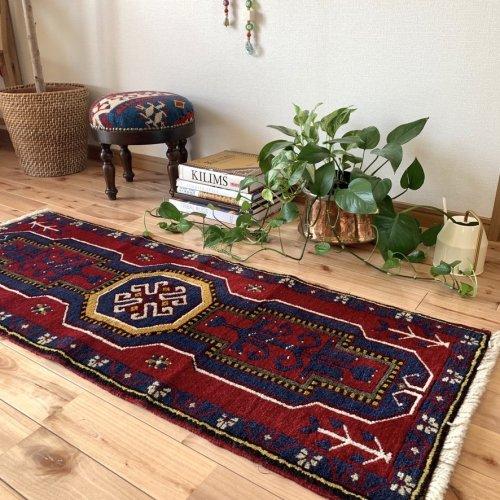 トルコ絨毯 コンヤ 128x50