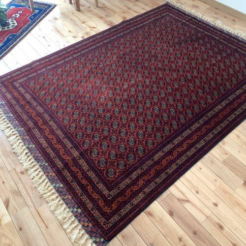 アフガン最高級絨毯ホジャロシュナイ 202x148cm