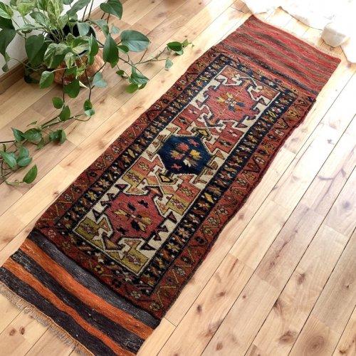 Collection セミアンティーク絨毯 コザック 143x50