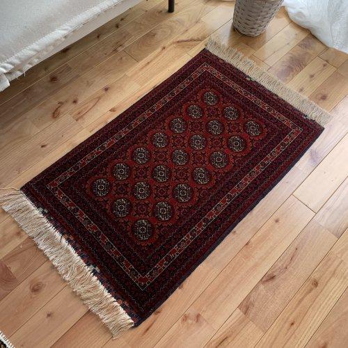 アフガン最高級絨毯ホジャロシュナイ 85x54