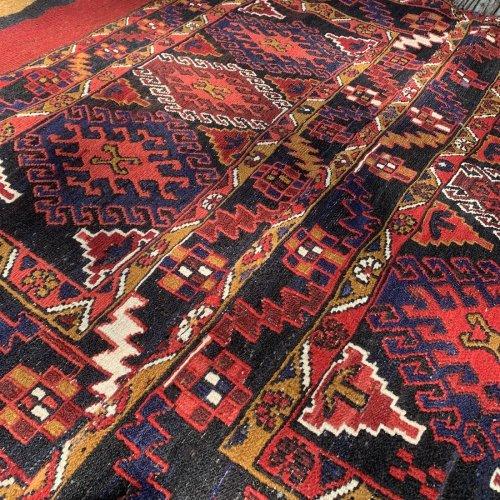 シャーセヴァン族 マフラッシュ  キリム 156x111