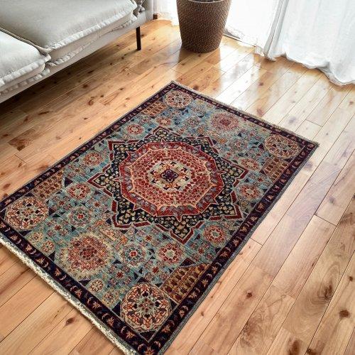 マムルーク絨毯 118x85cm