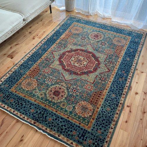 マムルーク絨毯 177x123cm