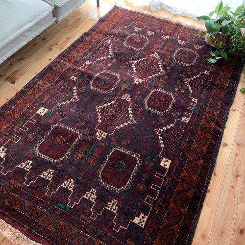 バルーチ絨毯 柔らかで上品  202x131
