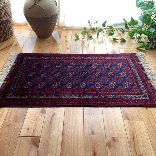アフガン最高級絨毯ホジャロシュナイ 84x47cm