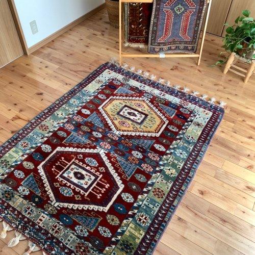 オールド絨毯 トルコ東部  159x123