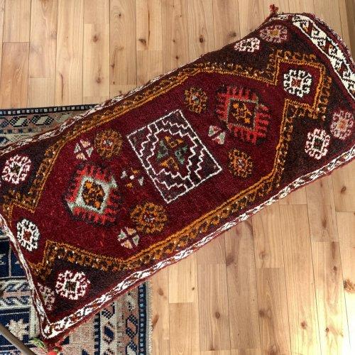 オールド絨毯 ヤストゥック 袋状 アンテプ 112x60