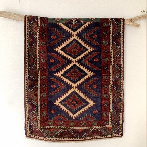 遊牧民の絨毯 ベルガマ  128x90