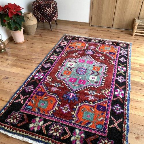 オールド絨毯 素敵なチャル 180x109