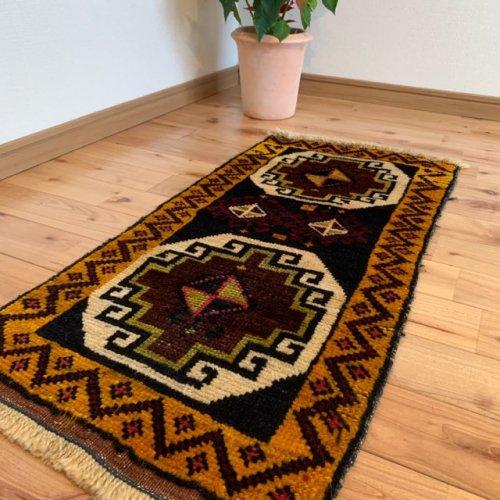 オールド絨毯  トルコ エラズー 90x43