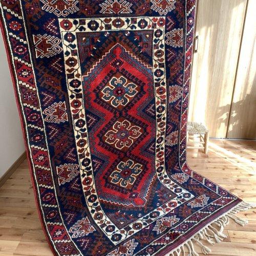 ニューオールド絨毯 地中海アンタルヤ ドシェメアルト 190x123