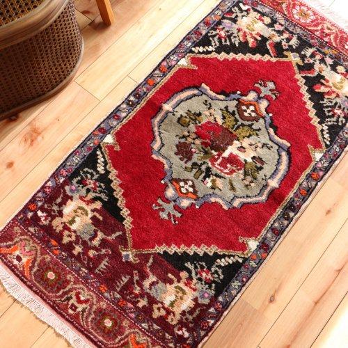 トルコ絨毯 エレガントなコンヤ 101x51