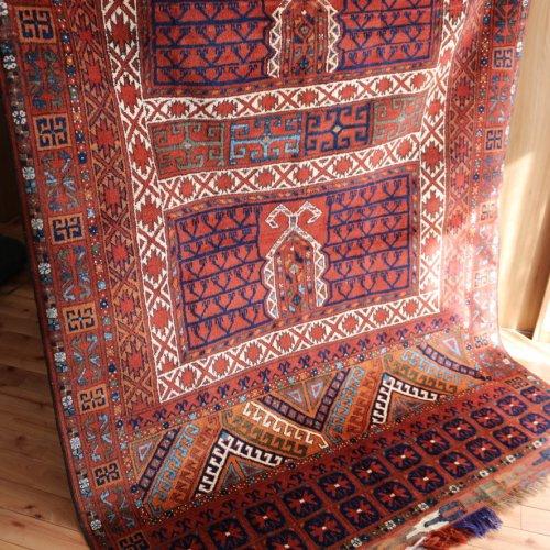 アンティーク エルサリ絨毯  219x158