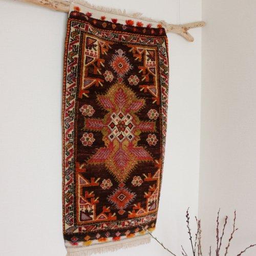 (ご予約品)Collection オールド絨毯 素敵なヤストゥック  チャル 121x60