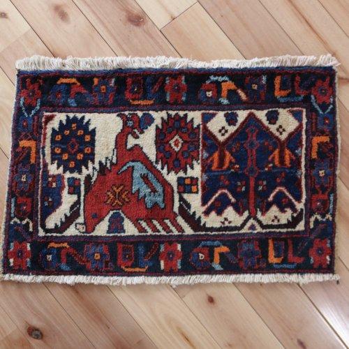 遊牧民のバッグフェイス アフシャール 61x37