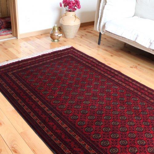 アフガン最高級絨毯ホジャロシュナイ 161x102
