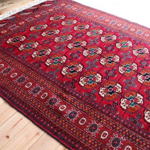 トルクメン絨毯 ブハラ 174x126