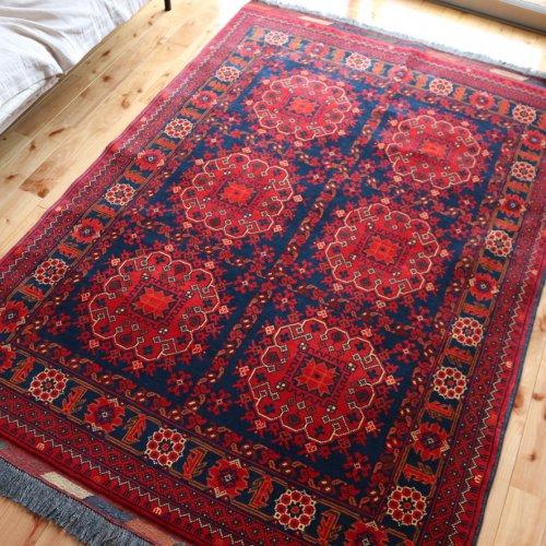 アフガン絨毯 上品なクンドゥズ 185x127
