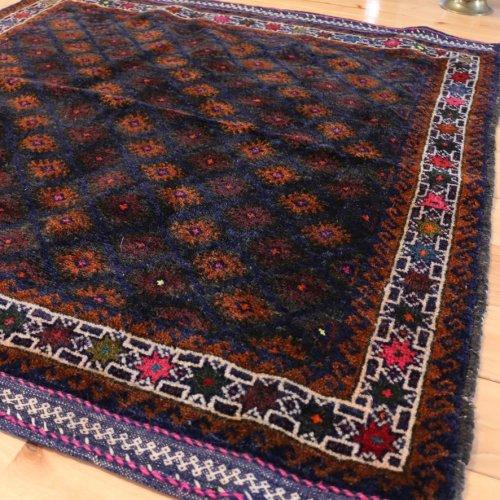 バルーチ族 絨毯 深い美 ソフラ 93x92