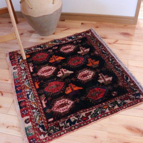 オールド絨毯 カシュカイのバッグフェイス  ホロジン  92x54