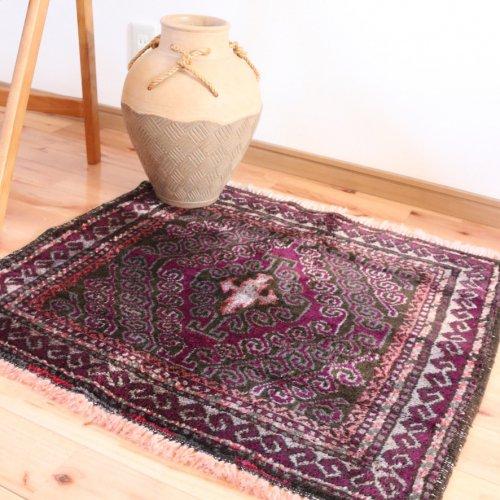 オールド絨毯 バルーチバッグフェイス  ホロジン  75x70