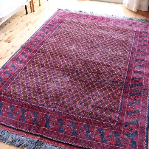アフガン絨毯 おしゃれなクンドゥズ 193x134