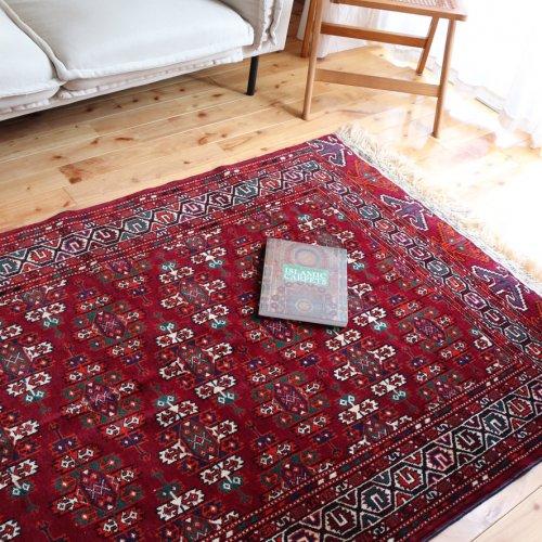 オールド絨毯 トルクメンヨムット ケプセギュル 190x118