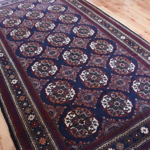 オールド絨毯 ホラサン バルーチ 224x127