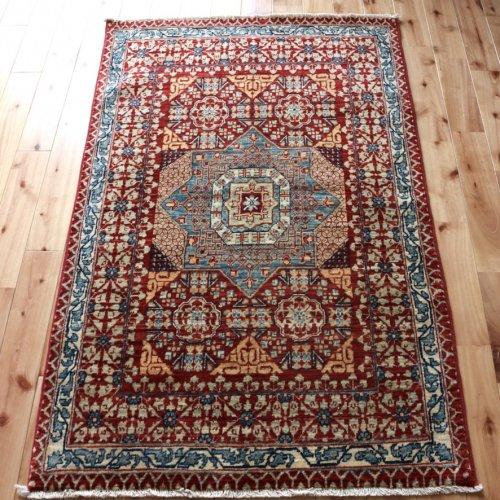 マムルーク絨毯 129x82