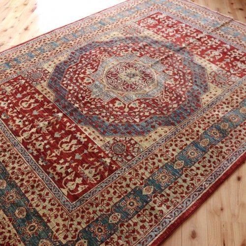 マムルーク絨毯 200x148