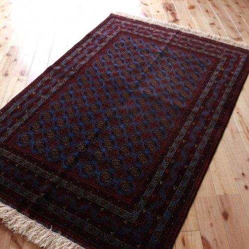 アフガン最高級絨毯ホジャロシュナイ 143x97