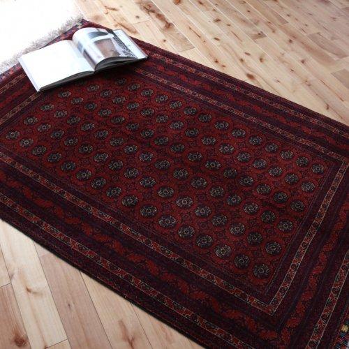 アフガン最高級絨毯ホジャロシュナイ 154x102