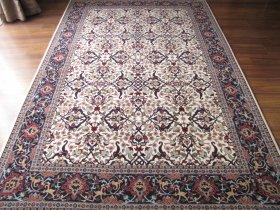 最高級ヘレケ絨毯  シュメル  OZEL  ドルマバフチェ  オフホワイト