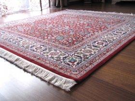 最高級ヘレケ絨毯 シュメルOZEL 七つの山の花柄